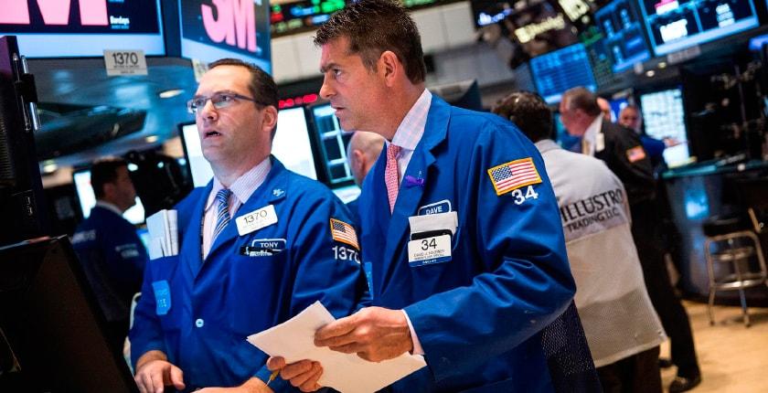 биржа на Уолл Стрит