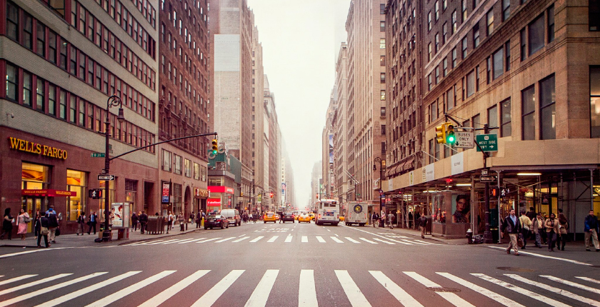 улицы города в сша фото