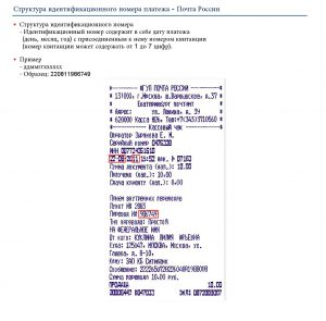 номер квитанции об оплате консульского сбора