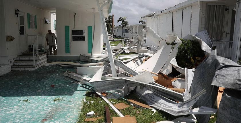 Последствия и прогнозы продвижения урагана Ирма в США
