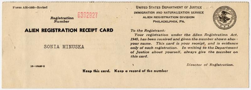 первые в истории Green Card
